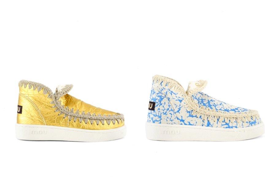 MOU lanzó su primera colección de sneakers veganos