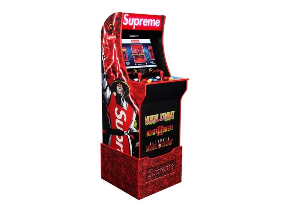 Maquinita arcade de la temporada FW20 de Supreme