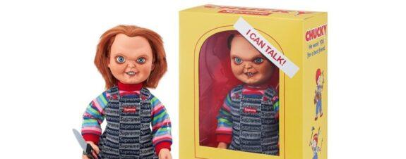 Muñeco Chucky en la nueva colección de Supreme