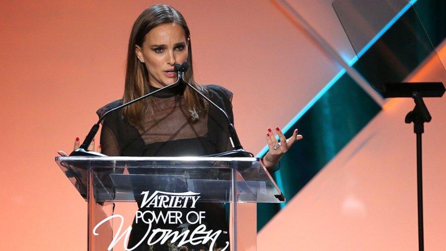 Natalie Portman en su discurso de los Variety 'Power of Women'