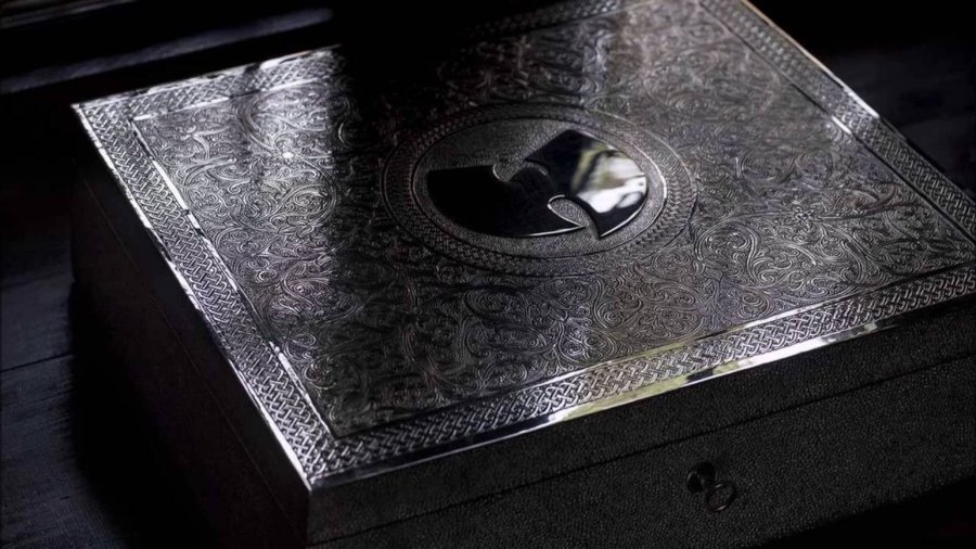Embalaje final del álbum Once Upon a Time in Shaolin del Wu Tang clan