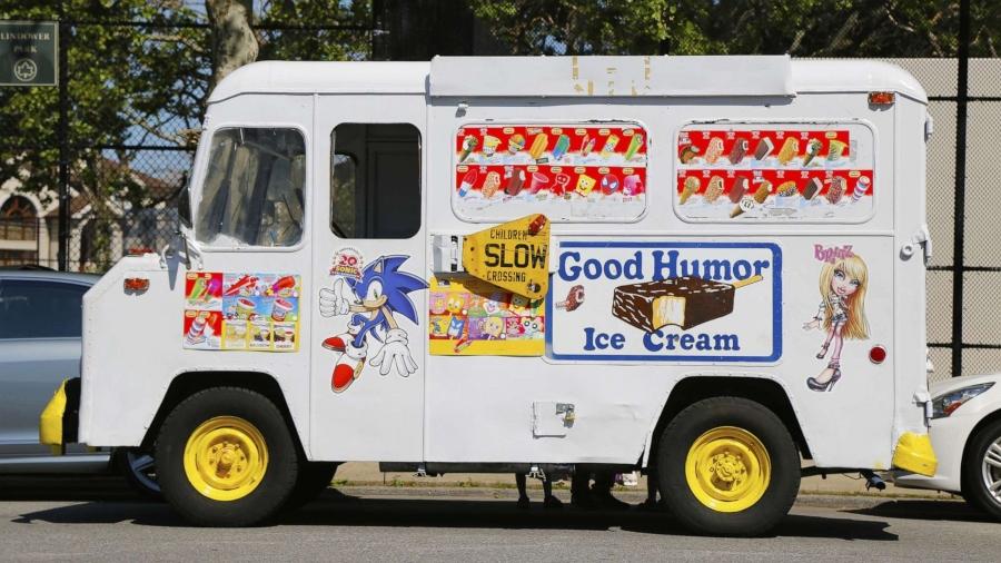 Camiineta de helados de Good Humor