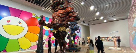 Artistas contemporáneos de Japón en la misma expo