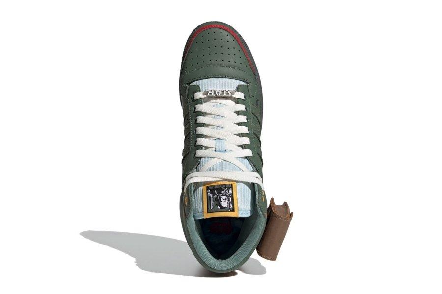 Aspecto de los Adidas de Boba Fett