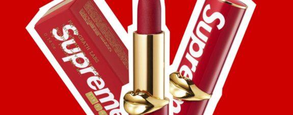 Supreme y Pat McGrath lanzan lipstick