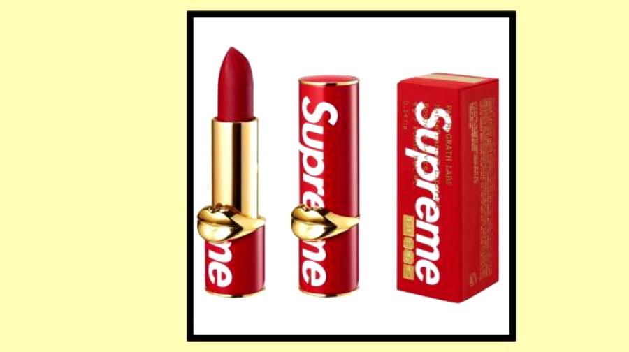 Supreme y Pat McGrath presentan este lipsctick