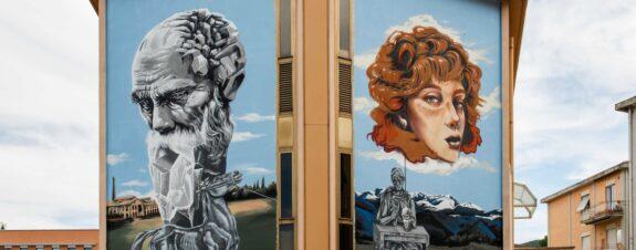 Trame Project y los murales de Neve, Sbagliato y Ale Senso