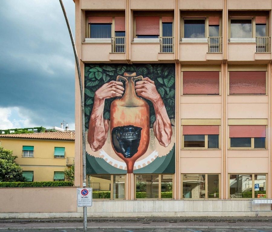 Mural por Ale Senso en Rieti