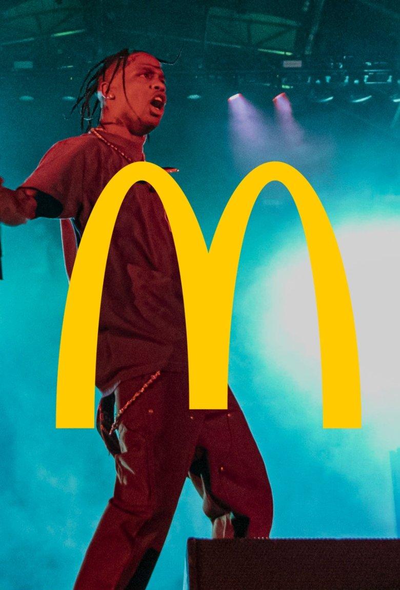Travis Scott y McDonald's preparan campaña juntos