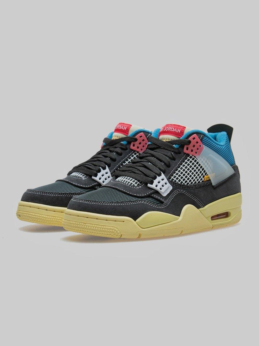 Sneakers Jordan 4, parte de la colección entre Union LA y Jordan