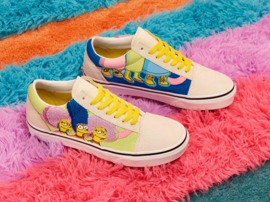 Vans y Los Simpson lanzan colaboración de ropa
