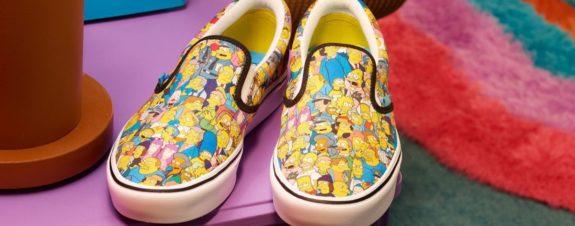 Vans y Los Simpson lanzan colección