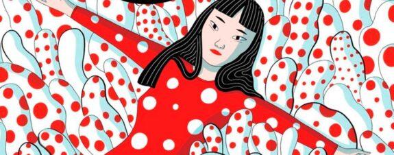 Yayoi Kusama protagoniza novela de Elisa Macellari
