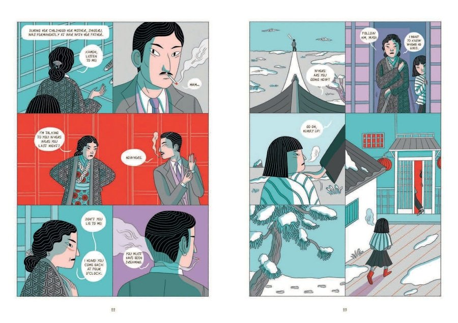 Yayoi Kusama protagonista de esta novela gráfica