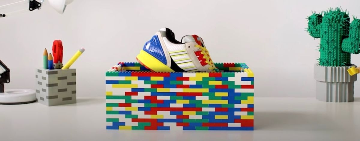 LEGO y Adidas presentan nuevos sneakers
