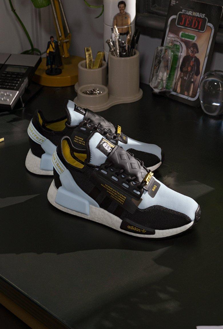 Adidas lanza colección inspirada en Lando Clarissain de Star Wars