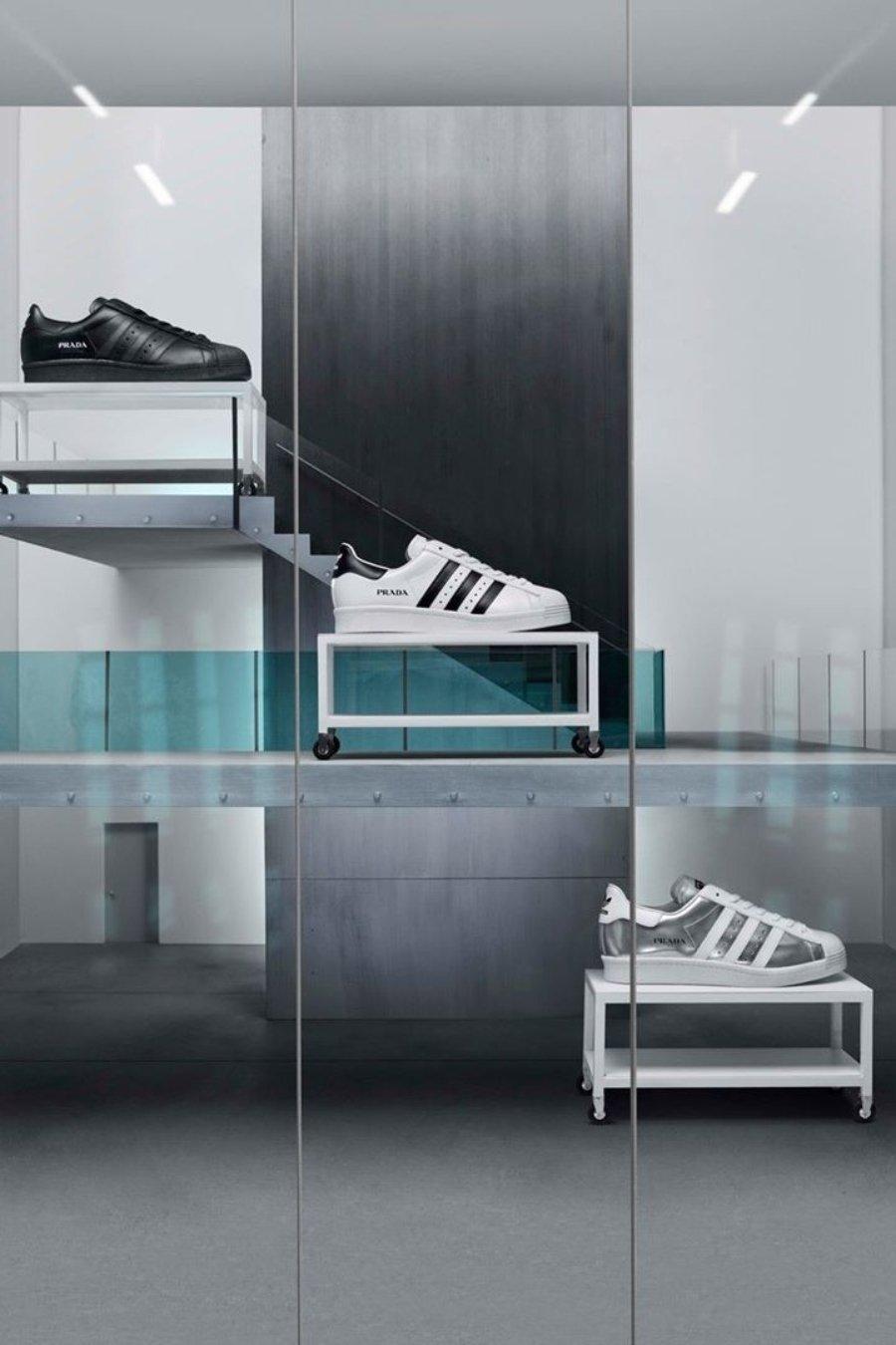 Adidas y Prada