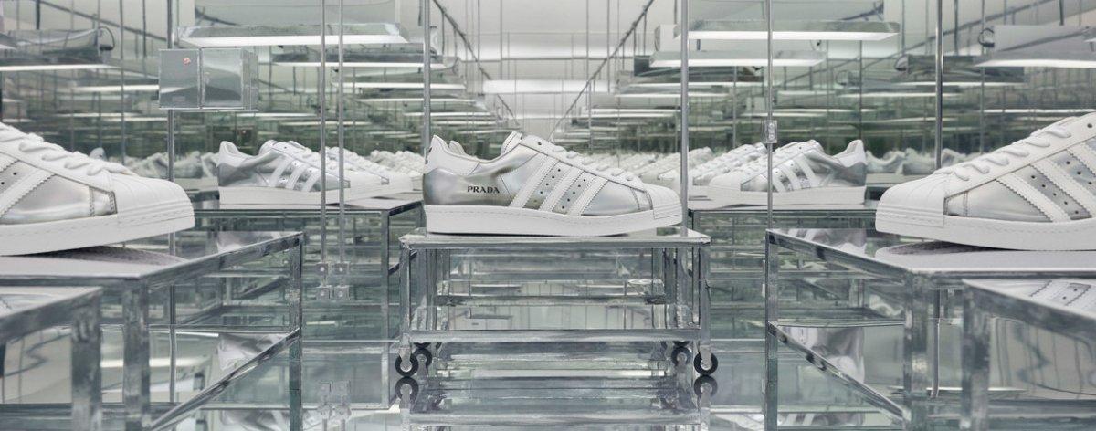 Adidas y Prada lanzan sneakers de lujo