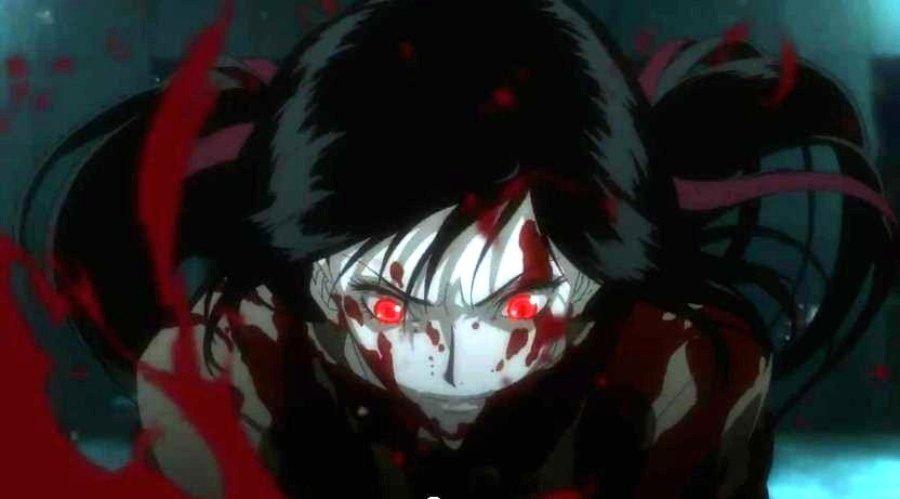 Ilustración del anime Blood C