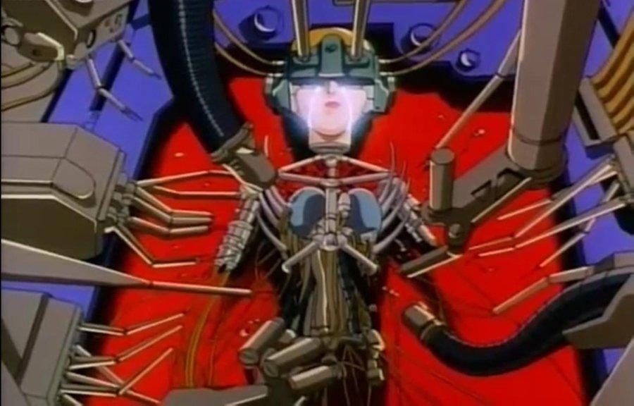 Ilustración del anime genocyber
