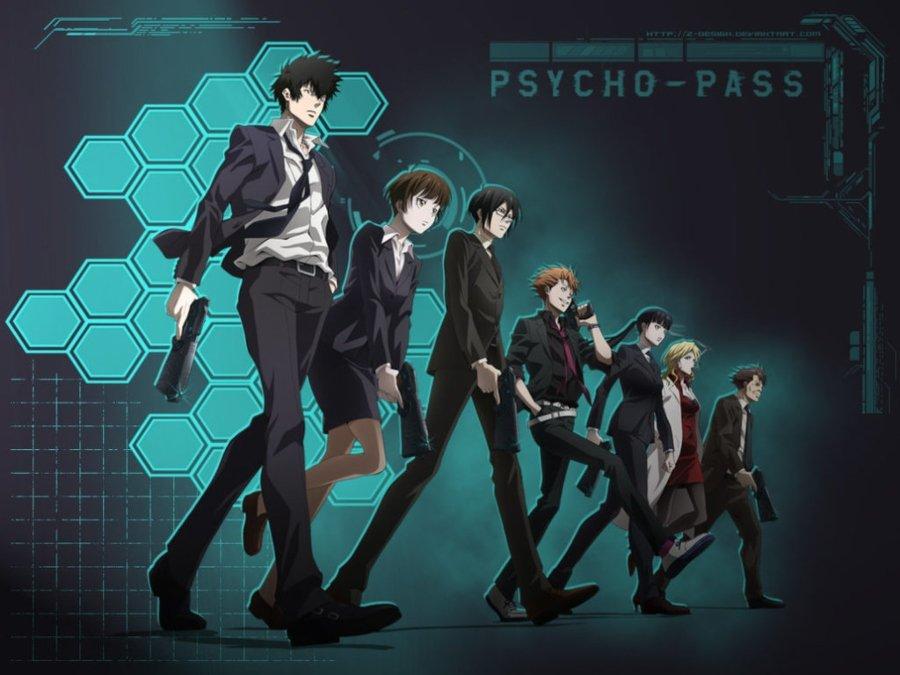 Ilustración del anime psycho Pass