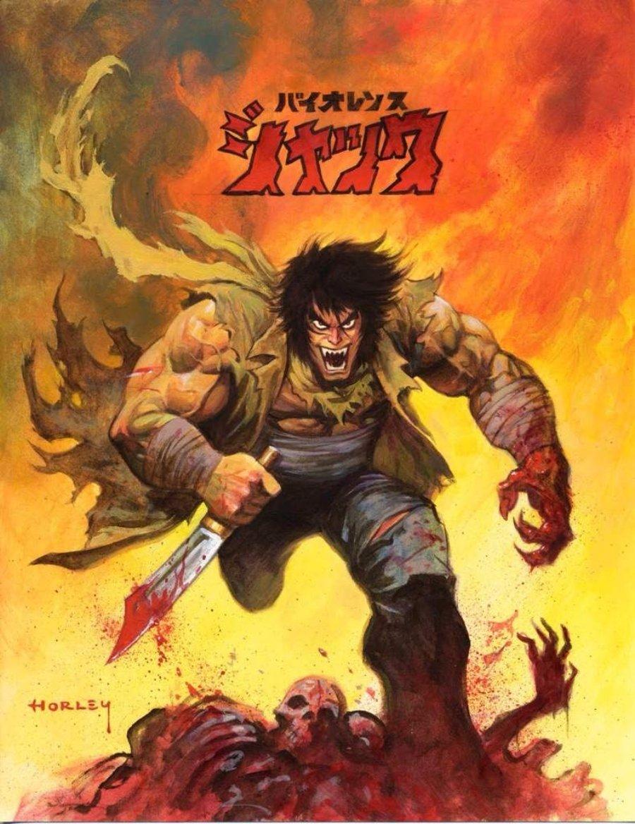 Ilustración del anime Violence Jack