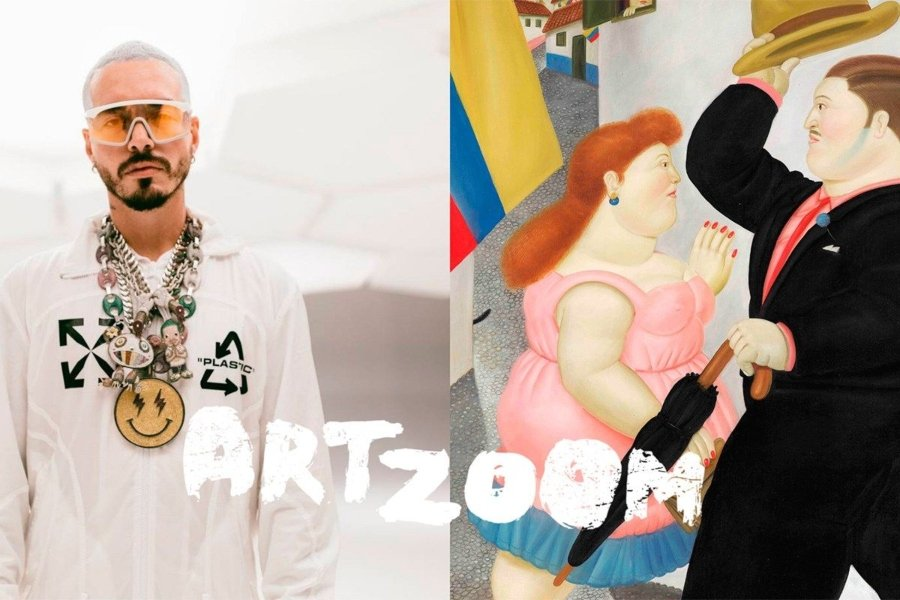 J Balvin como parte de Art Zoom de Google Arts & Culture