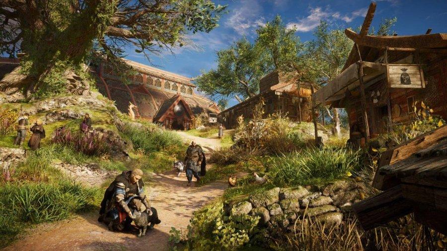 Aspecto del nuevo videojuego Assassin´s Creed Valhalla