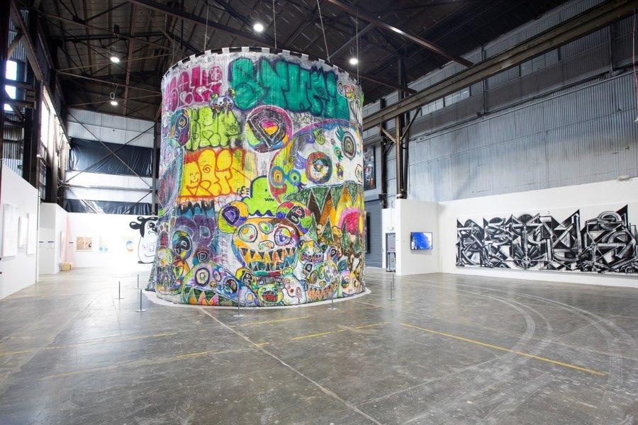Graffiti por Murakami
