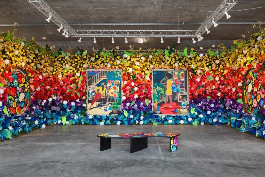 Obra que forma parte de la exhibición de Beyond the Streets