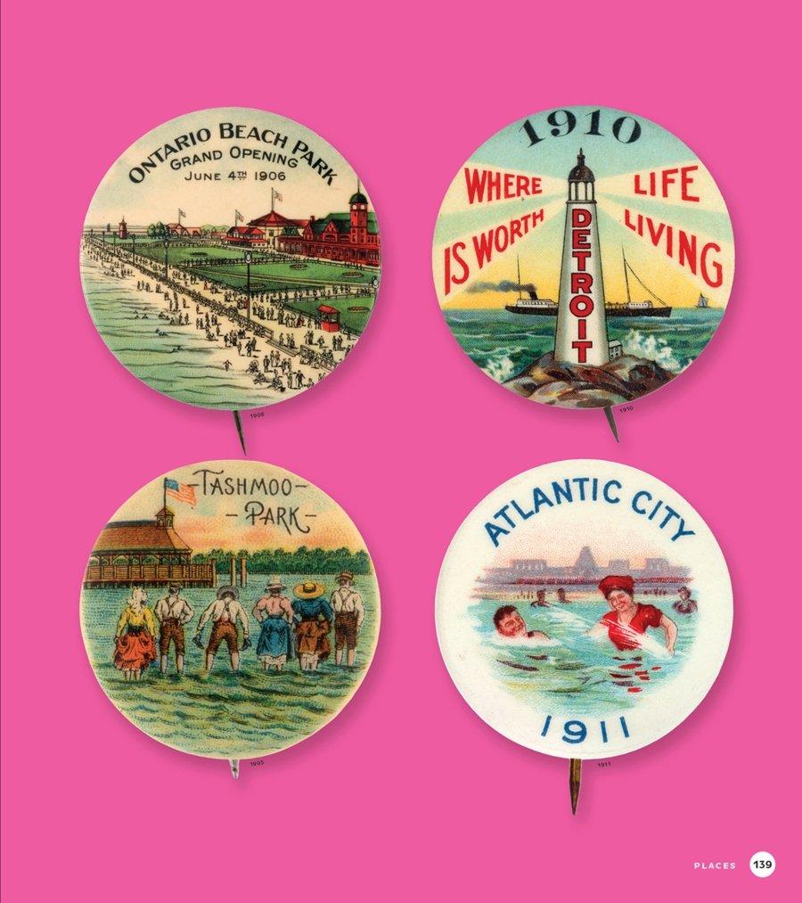 Ilustración perteneciente al libro Button Power
