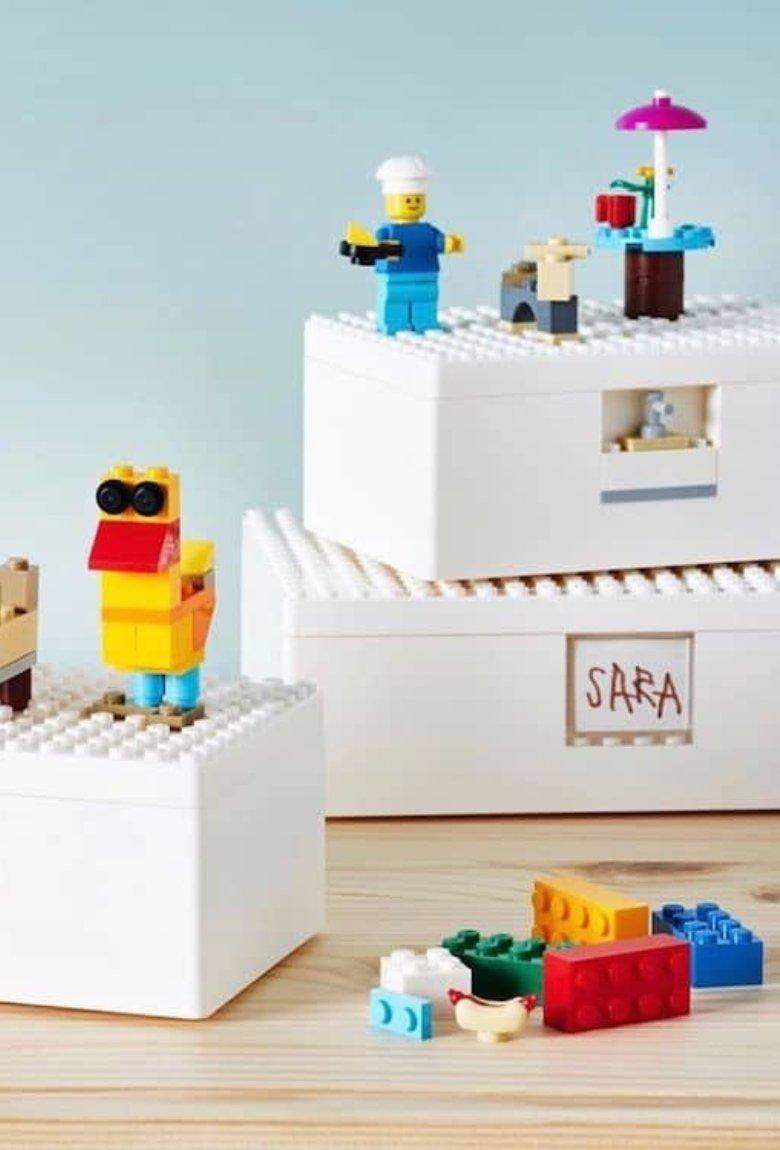 LEGO e Ikea lanzan cajas que también son juguetes