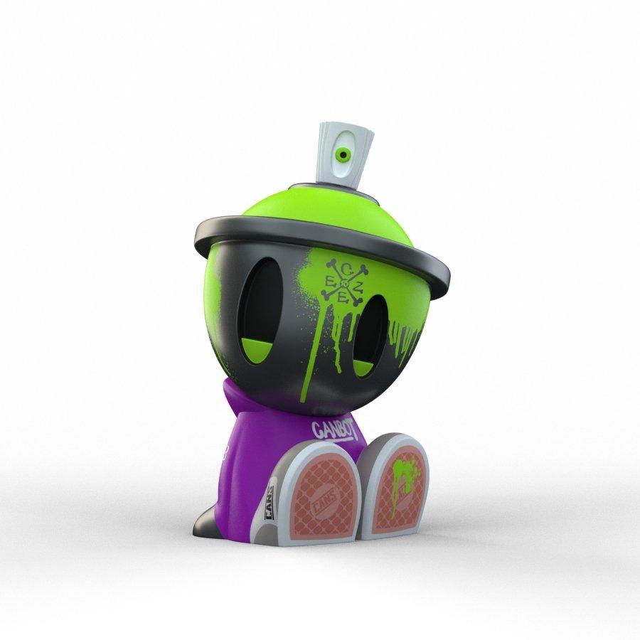 Nuevo Art toy Canbot Blindbox de Clutter Magazine