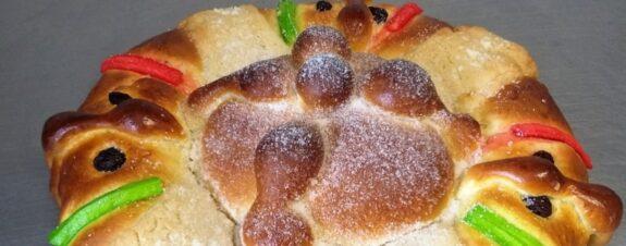 Roscamuerta, pan de muerto en rosca de Reyes para las próximas fiestas