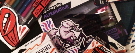 """Crayola Alternative, un """"must"""" para crear y salir de lo convencional"""