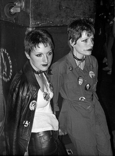Fotografía de jovenes en Londres durante los ochentaDerek Ridgers