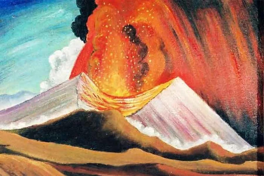 Pintura de Gerardo Murillo Cornado