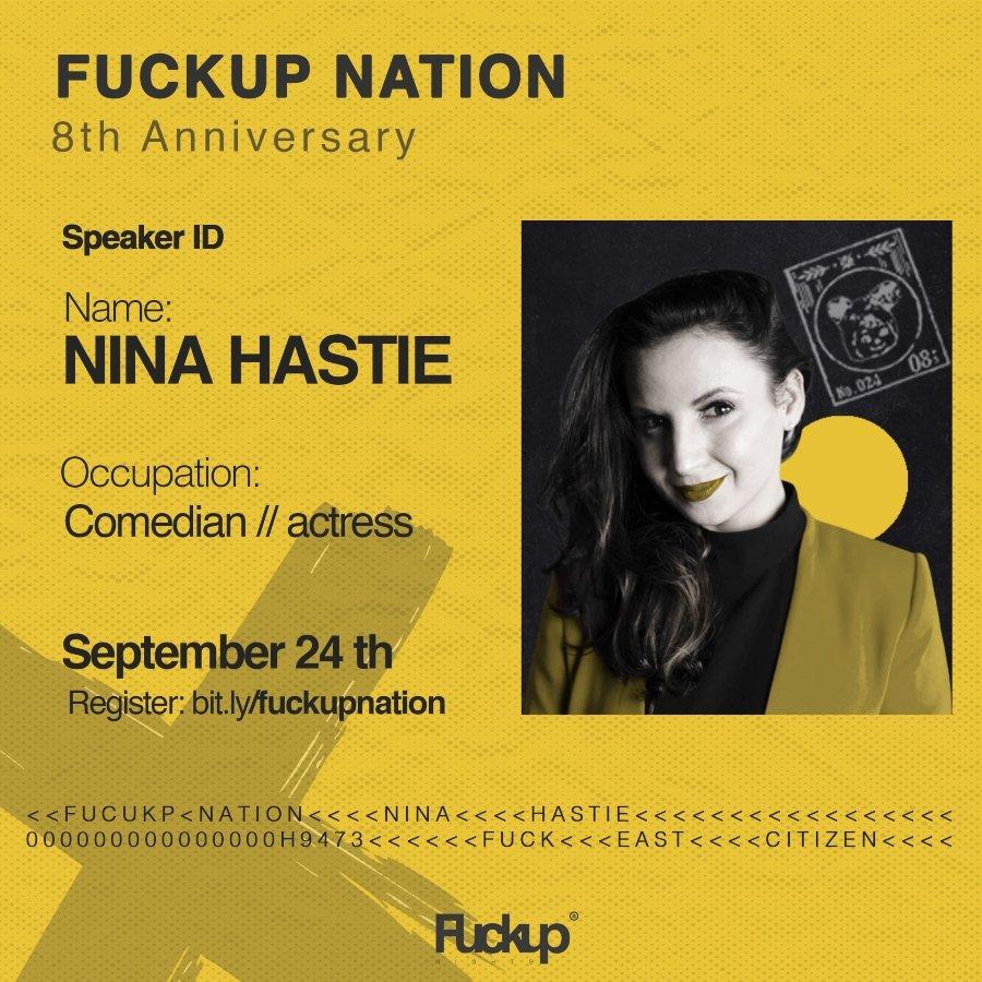 Nina Hastie comediante y actriz en Africa del Sur