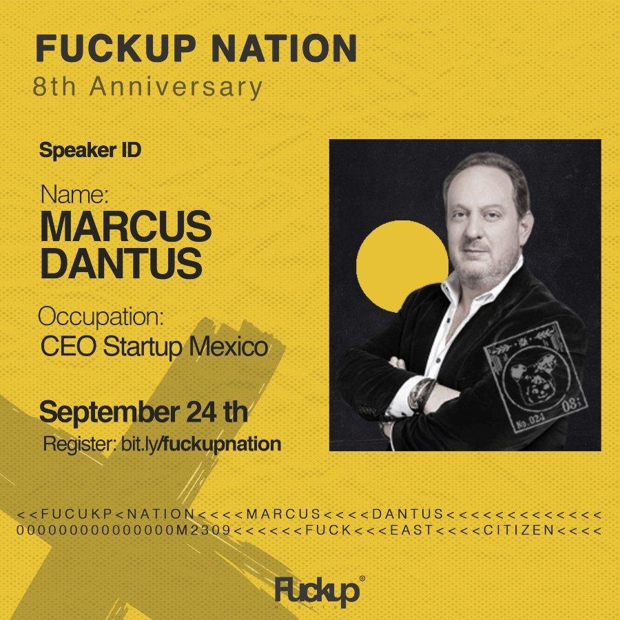 Marcus Dantus fundador de Startup México