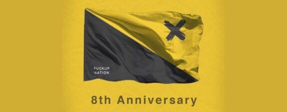 Fuckup Nation celebra el aniversario de Fuckup Nights