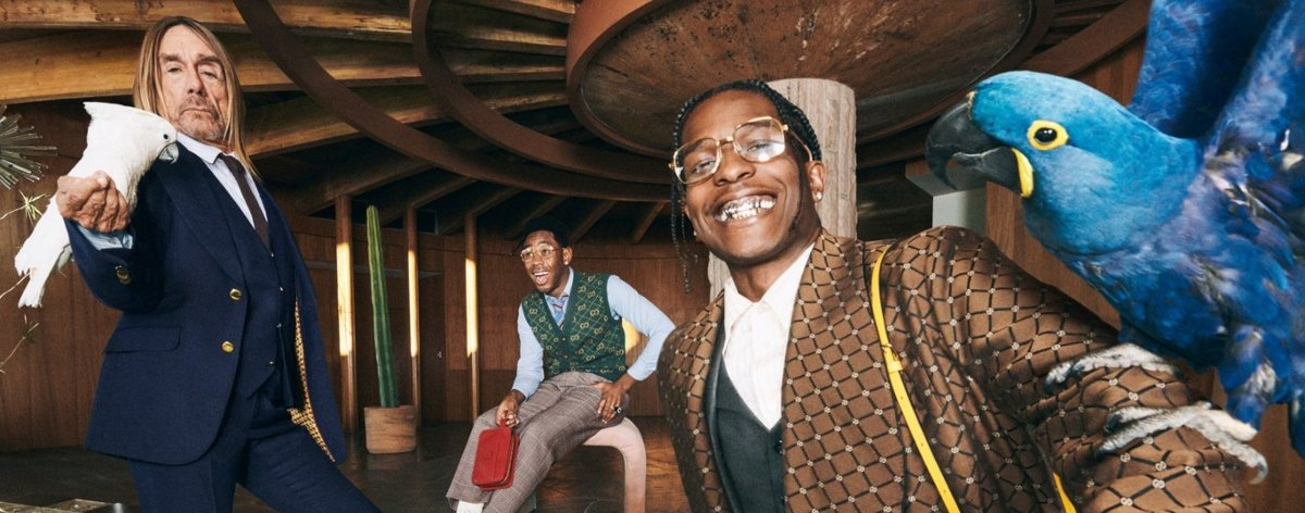 Gucci Tailoring une a Iggy Pop, Tyler y A$ap Rocky