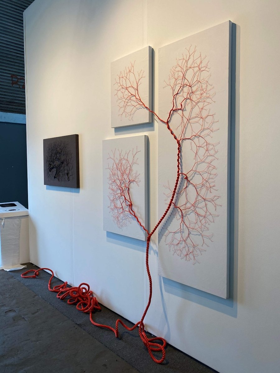 Ciclotrama, parte de la obra de Janaina Mello