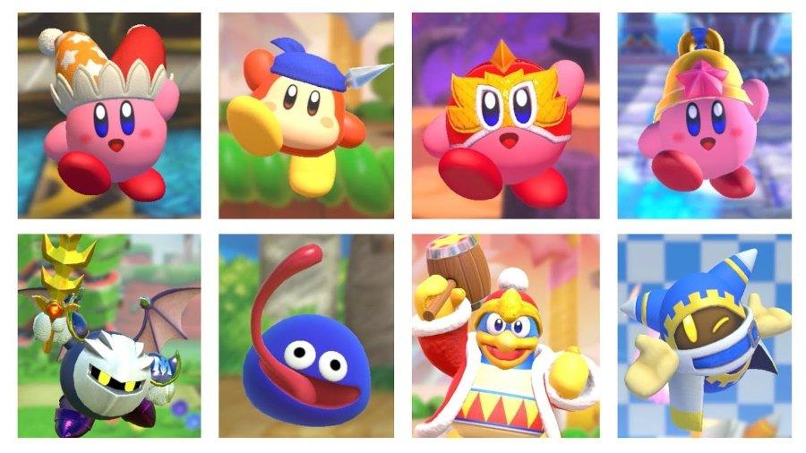 Aspecto del nuevo videojuego Kirby Fighters 2