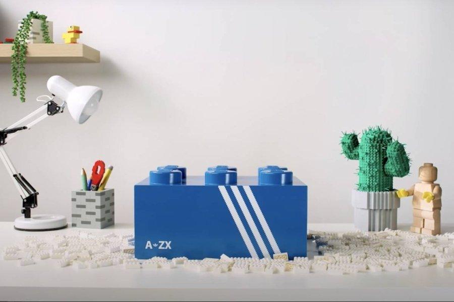 Aspecto de las nuevas zapatillas de Adidas y Lego