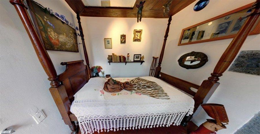 interior de la Casa Azul de Frida Kahlo