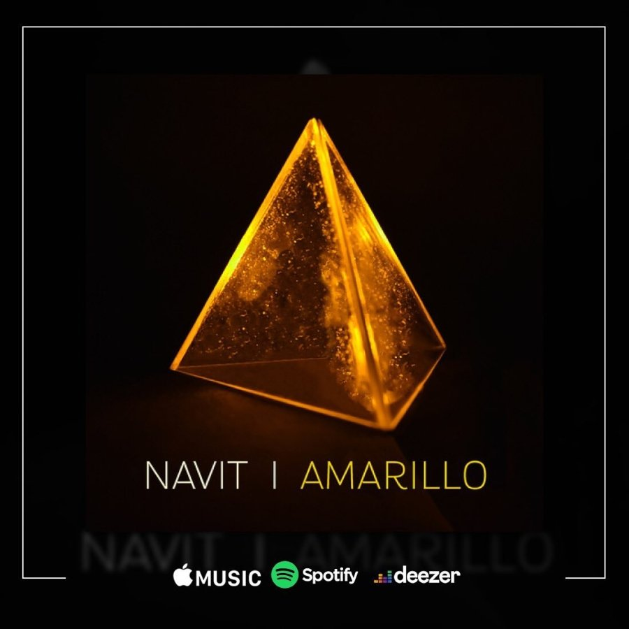 Portada de EP Amarillo de Navit