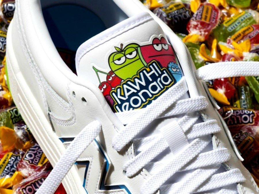 Sneakers colaborativos entre la marca de dulces y la de ropa deportiva