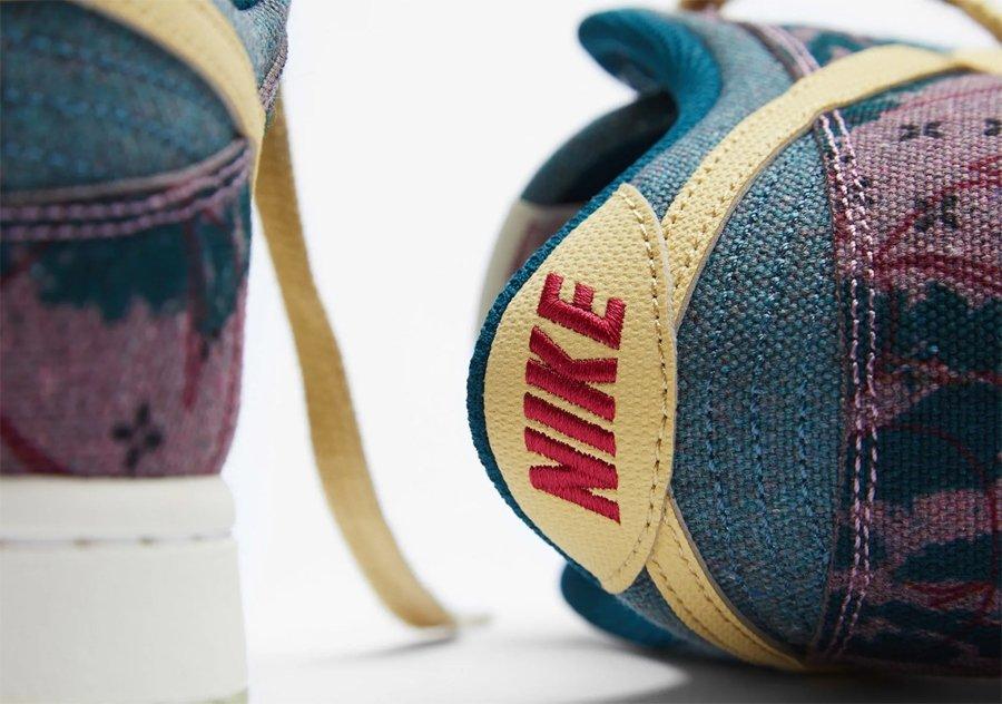 Nike Dunk Low Community Garden diseño