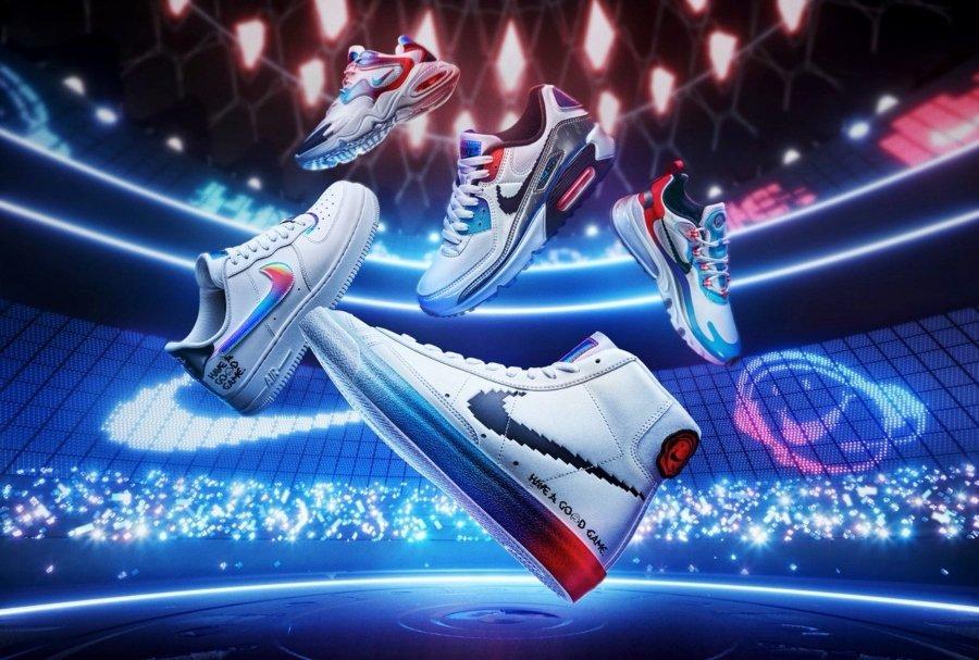 Siluetas de Nike en colaboración con League of Legends