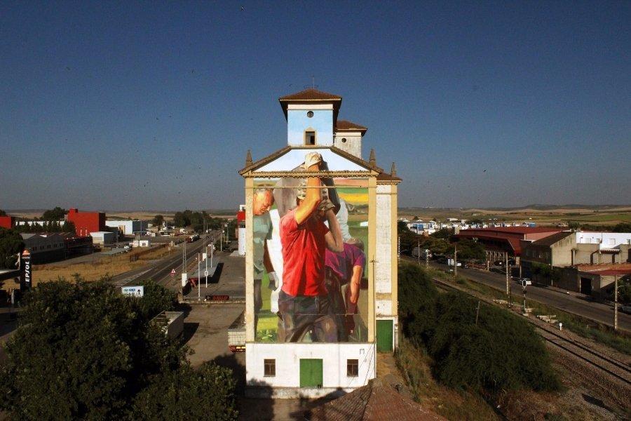 Mural de Manolo Mesa para Parees Festival 2020